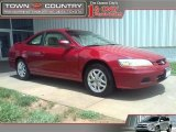 2002 Firepepper Red Pearl Honda Accord EX V6 Coupe #30485115