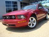 2007 Redfire Metallic Ford Mustang V6 Premium Coupe #30543829