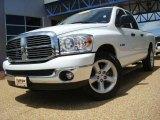2008 Bright White Dodge Ram 1500 Lone Star Edition Quad Cab #30543833