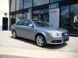 2008 Quartz Grey Metallic Audi A4 2.0T quattro Sedan #30543994