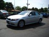 2007 Titanium Silver Metallic BMW 3 Series 328xi Sedan #30543870