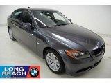 2007 Sparkling Graphite Metallic BMW 3 Series 328i Sedan #30544047
