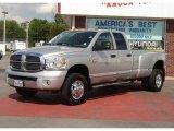 2009 Bright Silver Metallic Dodge Ram 3500 Laramie Quad Cab 4x4 Dually #30543720