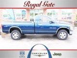 2004 Patriot Blue Pearl Dodge Ram 1500 ST Regular Cab 4x4 #30543745