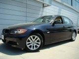 2007 Monaco Blue Metallic BMW 3 Series 328xi Sedan #30543765