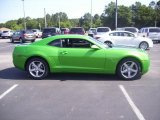 2010 Synergy Green Metallic Chevrolet Camaro LT Coupe Synergy Special Edition #30544156