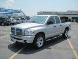 2008 Bright Silver Metallic Dodge Ram 1500 Big Horn Edition Quad Cab #30544194