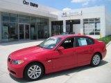 2007 Crimson Red BMW 3 Series 328i Sedan #30598749