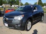 2010 Cyber Gray Metallic Chevrolet Equinox LTZ #30598629