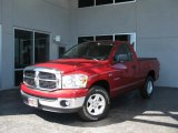 2008 Inferno Red Crystal Pearl Dodge Ram 1500 SLT Regular Cab #30598567
