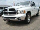 2005 Bright White Dodge Ram 1500 SLT Quad Cab #30598576