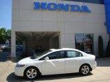 2007 Taffeta White Honda Civic EX Sedan #30598598