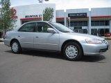 2002 Satin Silver Metallic Honda Accord LX Sedan #30615938
