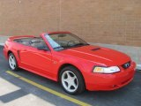 2000 Performance Red Ford Mustang GT Convertible #30616270