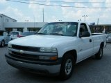 2002 Summit White Chevrolet Silverado 1500 Work Truck Regular Cab #30616297