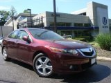 2009 Basque Red Pearl Acura TSX Sedan #30616302