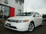 2007 Taffeta White Honda Civic EX Sedan #30616649