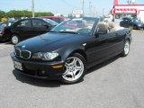 2004 Jet Black BMW 3 Series 330i Convertible #30616017