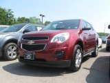 2010 Cardinal Red Metallic Chevrolet Equinox LS AWD #30617022