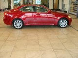 2008 Matador Red Mica Lexus IS 250 AWD #30617030