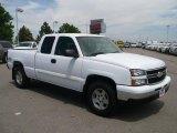 2006 Summit White Chevrolet Silverado 1500 LS Extended Cab 4x4 #30616059
