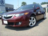 2009 Basque Red Pearl Acura TSX Sedan #30616061