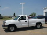 2003 Summit White Chevrolet Silverado 1500 Regular Cab 4x4 #30616375