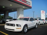 2007 Performance White Ford Mustang V6 Premium Convertible #30616728