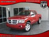 2010 Inferno Red Crystal Pearl Dodge Dakota Big Horn Crew Cab #30616081