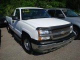 2004 Summit White Chevrolet Silverado 1500 Regular Cab 4x4 #30616405