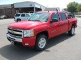 2010 Victory Red Chevrolet Silverado 1500 LT Crew Cab 4x4 #30617087