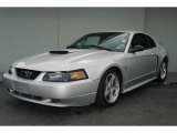 2000 Silver Metallic Ford Mustang GT Coupe #30616779