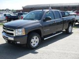 2010 Taupe Gray Metallic Chevrolet Silverado 1500 LT Extended Cab 4x4 #30617090