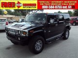 2003 Black Hummer H2 SUV #30617105