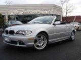 2006 Titanium Silver Metallic BMW 3 Series 330i Convertible #3059514
