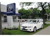 2008 Alabaster Silver Metallic Acura TSX Sedan #30616838