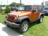 2010 Mango Tango Pearl Jeep Wrangler Rubicon 4x4 #30617181