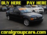 2000 Jet Black BMW 3 Series 323i Sedan #30617190