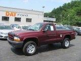 2003 Dark Garnet Red Pearl Dodge Dakota SXT Regular Cab 4x4 #30616191