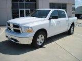 2010 Stone White Dodge Ram 1500 SLT Crew Cab #30722836