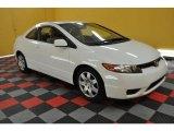 2007 Taffeta White Honda Civic LX Coupe #30722858