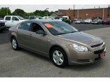 2008 Amber Bronze Metallic Chevrolet Malibu LS Sedan #30722727
