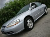 2002 Satin Silver Metallic Honda Accord EX V6 Sedan #30722608