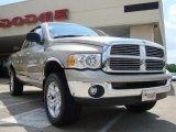 2005 Light Almond Pearl Dodge Ram 1500 Laramie Quad Cab 4x4 #30746445