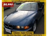 2000 Biarritz Blue Metallic BMW 5 Series 528i Sedan #30746393