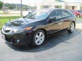 2009 Crystal Black Pearl Acura TSX Sedan #30752503
