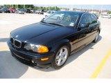 2002 Jet Black BMW 3 Series 325i Coupe #30752577