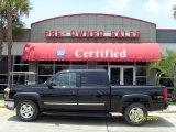 2004 Black Chevrolet Silverado 1500 Z71 Crew Cab 4x4 #30752354