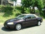 2003 Deep Lava Red Metallic Chrysler Sebring LX Convertible #30752476