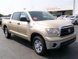 2010 Sandy Beach Metallic Toyota Tundra CrewMax 4x4 #30752482